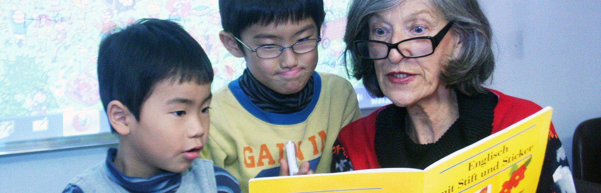 DESK Sprachkurse, Kinderunterricht, Tuition for Kids, Englischkurse, Deutschkurse